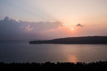 Sunrise over Krakatau islands (Photo: Ivana Dorn)