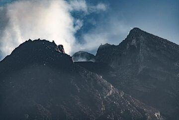Detail of the lava dome, Merapi (Photo: Ivana Dorn)