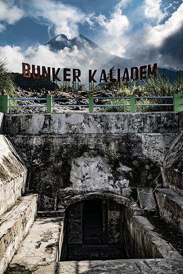 The bunker by Merapi (Photo: Ivana Dorn)
