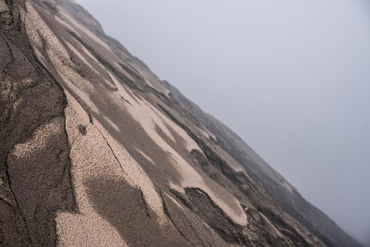The steep wall of Bromo's crater (Photo: Ivana Dorn)