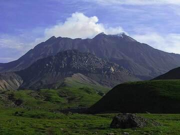 Bezymyanny volcano in the morning, Kamchatka (Photo: Anastasia)