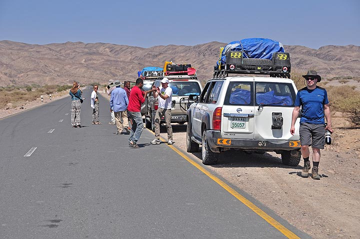 Scenic stop on the way to Hamed Elah (Photo: Anastasia)