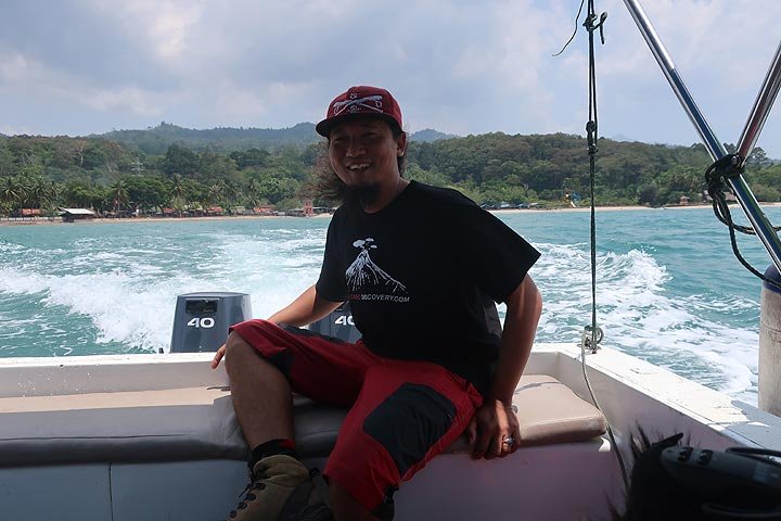 Our expedition leader Galih (Photo: AndreyNikiforov)