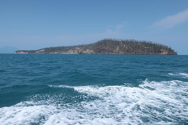 Looking towards Panjang Island, part of the eastern caldera rim of Krakatau volcano (Photo: AndreyNikiforov)