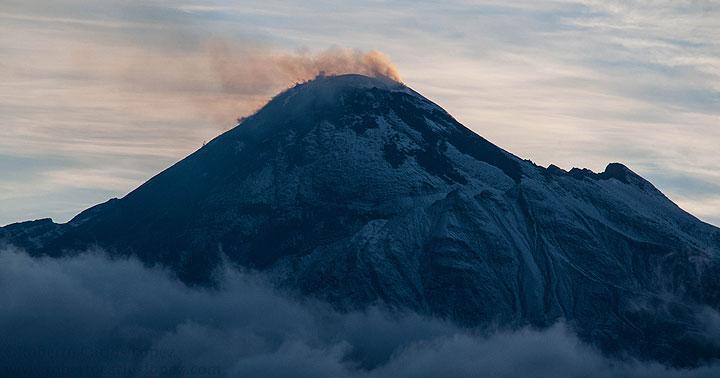 "Bezymianny - the ""unnamed"" volcano of Kamchatka in Sep 2016 (Photo: AndreyNikiforov)"
