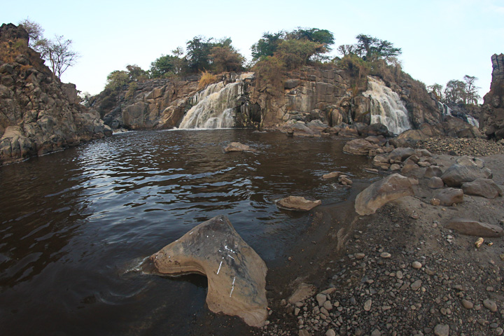 Awash river water falls (Photo: Dietmar)