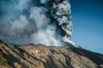 Etna, 14th paroxysm (26 October 2013) (Photo: Giuseppe Graziano Barone)