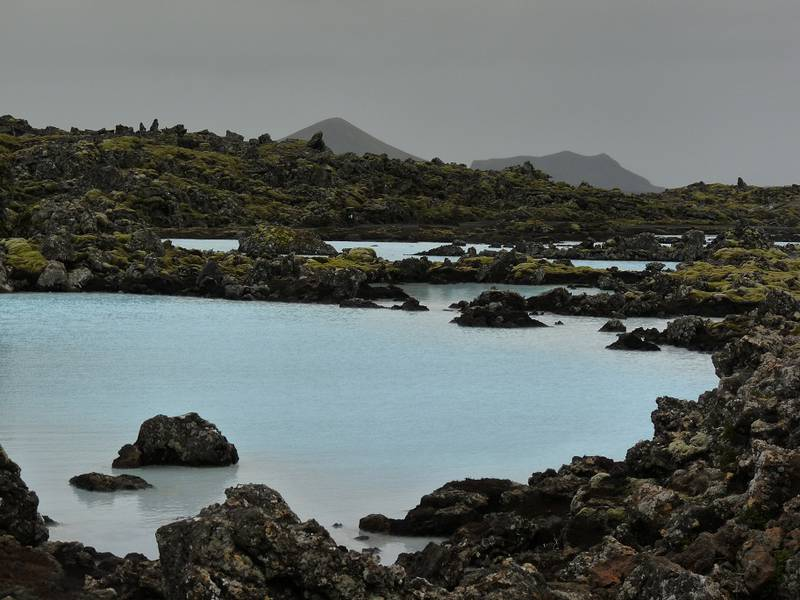 The 'Blue Lagoon' is a geothermal spa situated in a lava field  in the Grindavík area on the Reykjanes Peninsula, southwestern Iceland (11 september 2014) (Photo: Ingrid)