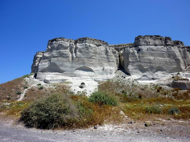 Pumice quarry on Santorini island, Greece (Photo: Janka)
