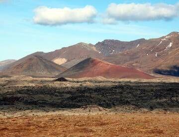 Cinder cones in the Berserkjahraun lava field belonging to the volcanic system of Ljósufjöll, Iceland (Photo: Janka)