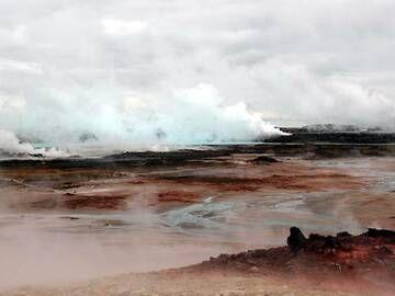 Gunnuhver geothermal area, Reykjanes peninsula, Iceland (Photo: Janka)