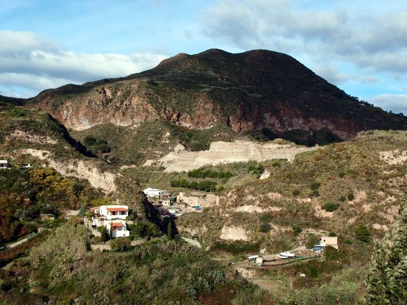 Pumice quarry on Lipari island, Italy (Photo: Janka)