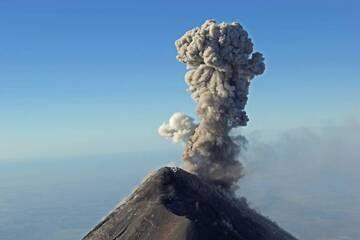 2. Volcan Fuego 3963m, From The Summit Of Volcan Acatenango  3993m, Guatemala. (Photo: Jay Ramji)