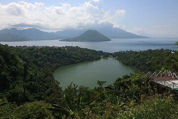 Laguna (Ngade) Lake, And Maitara And Tidore Islands, Ternate, North Maluku, Indonesia (Photo: Jay Ramji)