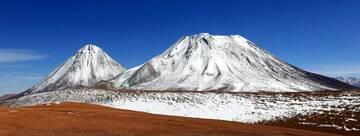 Volcanoes Licancabur and Juriquues in Chile (Photo: Jiri VonDrak)