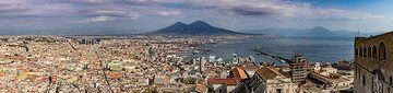 Panorama over Naples and the Gulf of Naples (Photo: Markus Heuer)