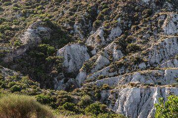 Eroded pumice deposits on Monte Pilatus (Lipari Island) (Photo: Markus Heuer)