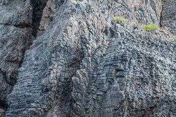 Prismatic lavas at Cala Junco (Photo: Markus Heuer)