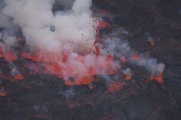 Nyiragongo's lava lake (Photo: Michael Wareham)