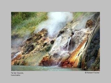 Hot spring in the Valley of Geysers, Kamchatka (Photo: Norbert Fischer)