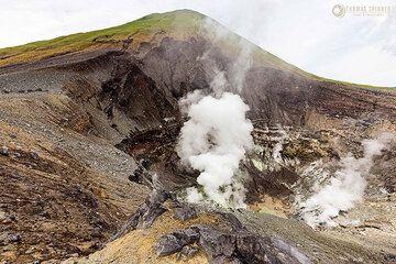 Lokon volcano (Photo: Thomas Spinner)