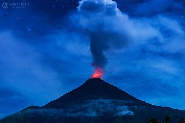 Impressions of volcanoes and landscapes (N-Sulawesi, Halmahera, Siau Island) during our Volcanoes and Spices volcano tour in northern Indonesia. Photos taken by participant Thomas Spinner. (Photo: Thomas Spinner)
