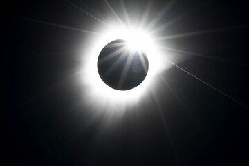 Third contact - the sun reappears. (Photo: Tilmann)