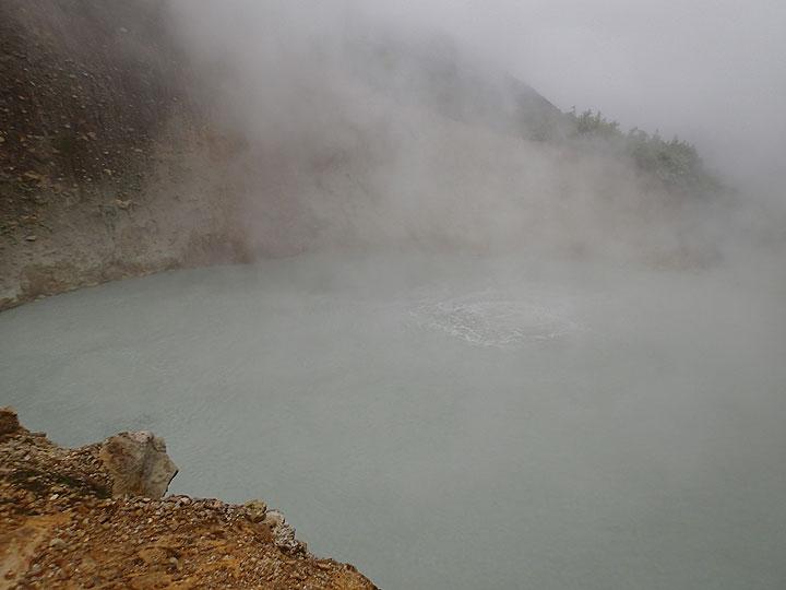 Boiling lake, Dominica (Photo: Ursula Lehmann)