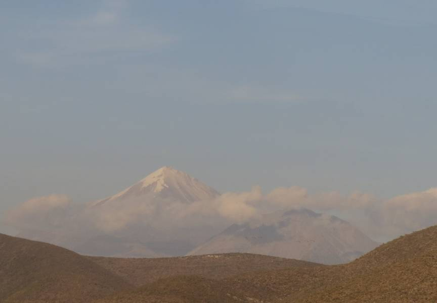 Stratovolcano Citlaltepetl (highest mountain in Mexico, 5636m) (Photo: WNomad)