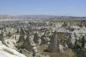 view from Göreme/Cappadocia to Volcano Erciyes Dagi, Kayseri Province, Central Anatolia, turkey (Photo: WNomad)