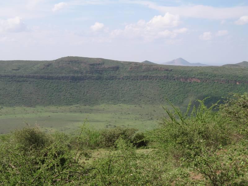 Caldera Gof Choba, Chalbi Desert/ Marsabit National Reserve, near Marsabit, Northern Kenya (Photo: WNomad)