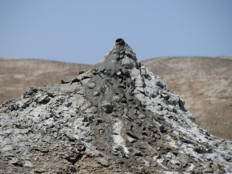 Part of a series of Mud Volcanoes near Qobustan, Azerbaijan (Photo: WNomad)