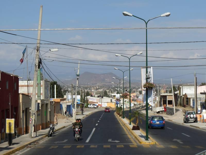 Volcano Tecajete, view from San Francisco Acatepec, Mexico (Photo: WNomad)