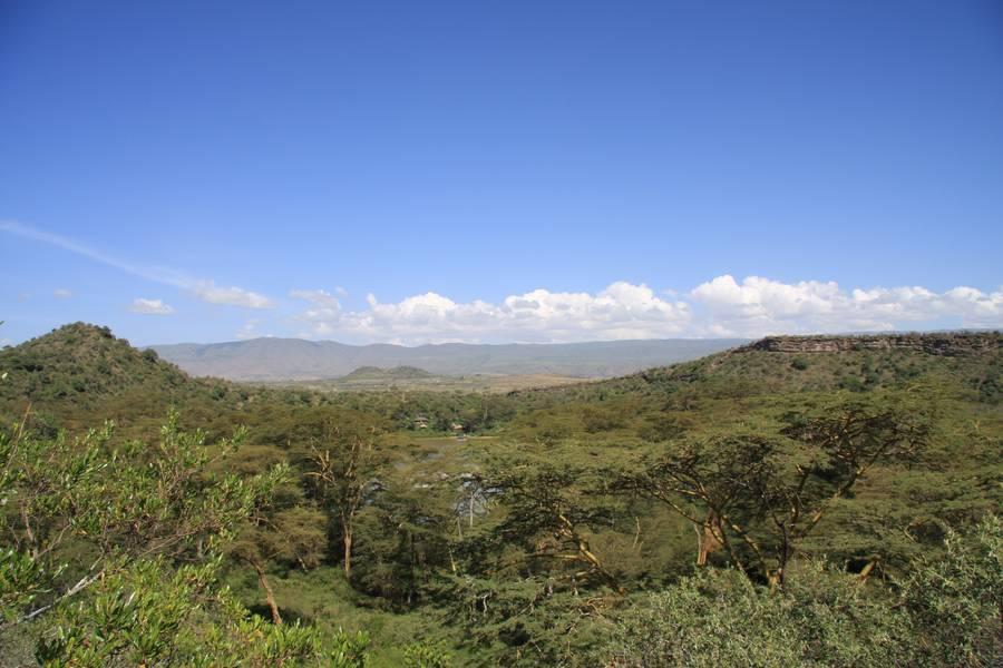 Crater Lake, close to Lake Naivasha, Hells Gate N.P. and Mt. Longonot, Kakuru district, Rift Valley, Kenya (Photo: WNomad)