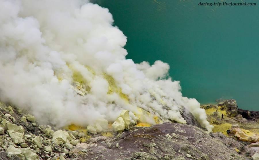 Kawah Ijen volcanoe, January 2015 (Photo: daring-trip)