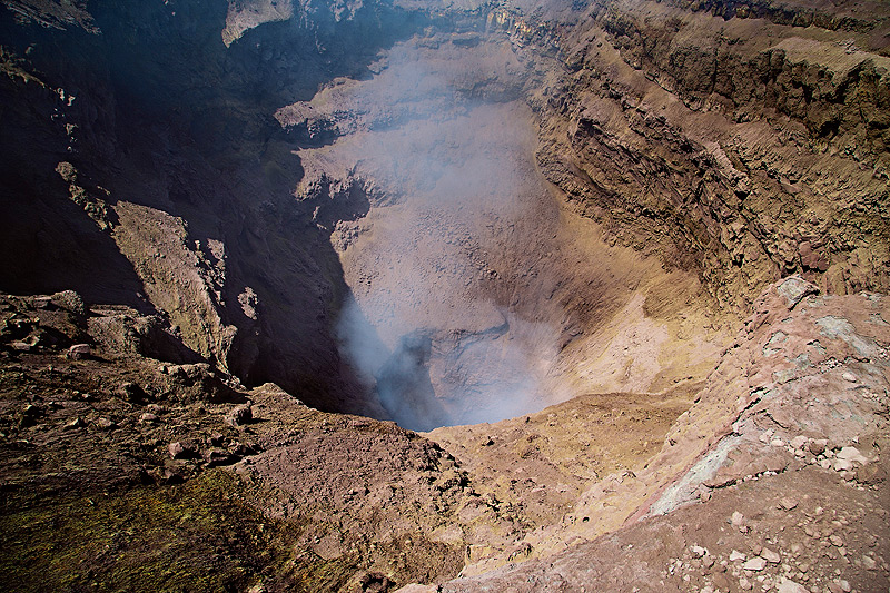View inside Etna's North East Crater on August 27th, 2014 (Photo: Emanuela / VolcanoDiscovery Italia)