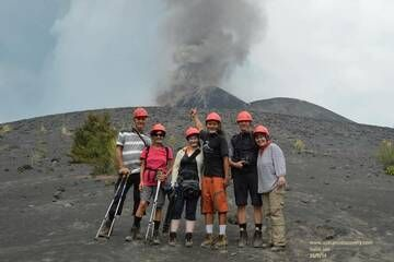 Our latest group on Anak Krakatau (15 Sep 2018) (Photo: Galih Jati)
