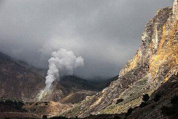 Papandayan volcano (Photo: Uwe Ehlers / geoart.eu)