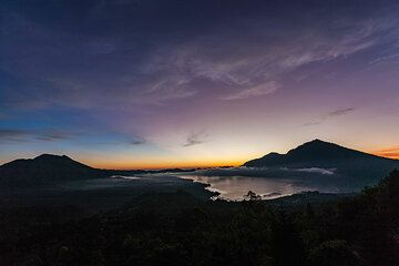 Morning at the Batur caldera (Photo: Uwe Ehlers / geoart.eu)