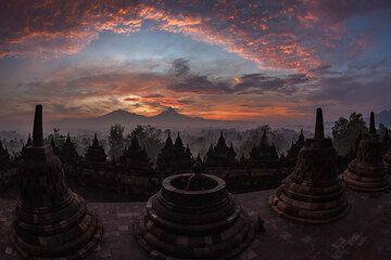 Borobodur temple (Photo: Uwe Ehlers / geoart.eu)