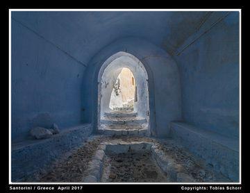 Entrance of the castle of Emborion (Photo: Tobias Schorr)