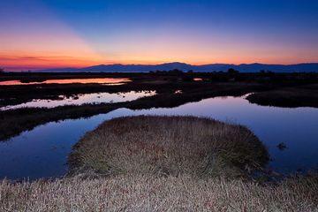 Sonnenuntergang auf der Insel von Lesbos, Griechenland (Photo: Tobias Schorr)