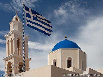 Church at Acrotiri. (Photo: Tobias Schorr)