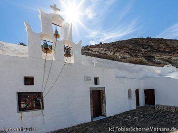 The chape of Arhangelos at Acrotiri. (Photo: Tobias Schorr)