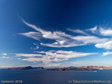 View at the caldera of Santorini. (Photo: Tobias Schorr)