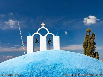 Santorini is not only a highlight when it comes to present a natural showcase of fantastic geology and volcanic history deeply interwoven with Europe's ancient history, but it is also a very photogenic island. Tobias Schorr presents a selection of photos taken during our Santorini walking tour in Oct 2018:  (Photo: Tobias Schorr)