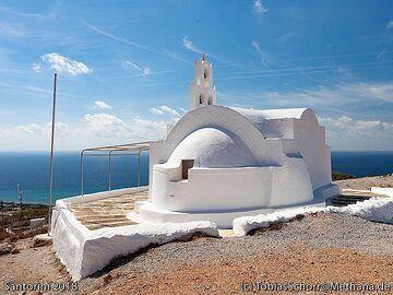The chapel at the Gavrilos mountain. (Photo: Tobias Schorr)
