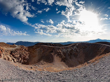 The Georgios crater of 1940. (Photo: Tobias Schorr)