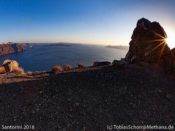 The old volcanic dyke near Ia village. (Photo: Tobias Schorr)