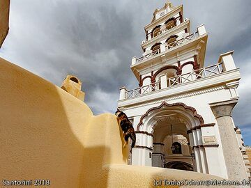 The church inside the castle of Emporio. (Photo: Tobias Schorr)